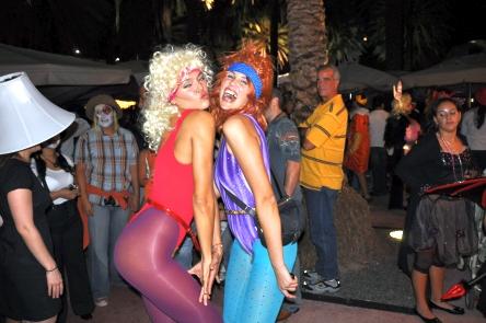 80's Aerobic Twins!