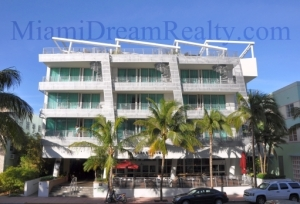 De Soliel Hotel on Ocean Drive