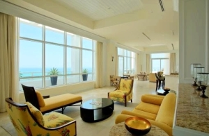 Fontainebleau II Penthouse Living Room