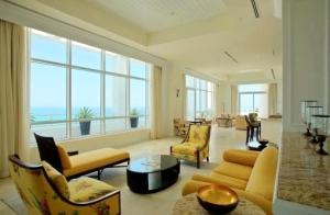 Fontainebleau II Penthouse Living Room